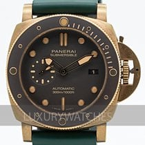 Panerai Luminor Submersible Bronz 47mm Hnědá