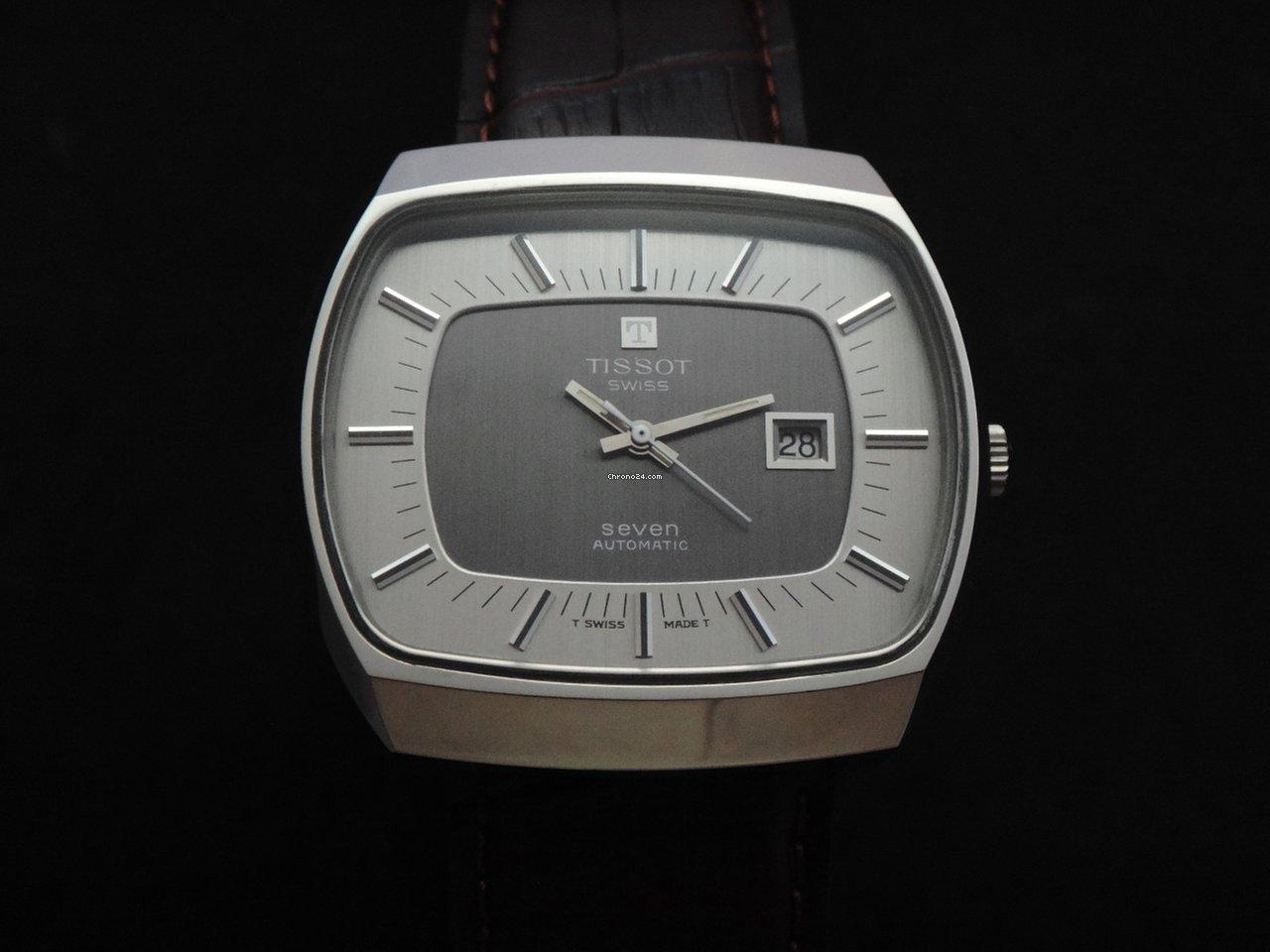 tissot vintage seven 70s nos sold on chrono24