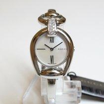 구찌,새 시계/미 사용,박스 있음, 서류 있음,28 mm,스틸