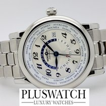 Montblanc Steel Automatic White Arabic numerals 41-43mm new Star