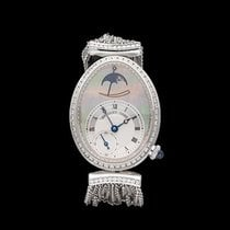Breguet Reine de Naples Moon Phase Power Reserve 18k White...