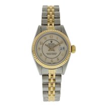 Rolex Oyster Perpetual Datejust 69173 Yellow Gold & Steel