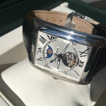 Frederique Constant Carree Steel Moonphase Heartbeat