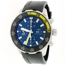 IWC Aquatimer Chronograph Day Date Automatic Stainless Steel...