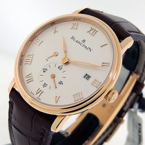 Blancpain Villeret Ultra-Slim Rose gold 40mm Silver Roman numerals United States of America, California, Los Angeles