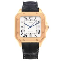 Cartier Santos (submodel) WGSA0011 New Rose gold 39.8mm Automatic