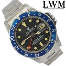 Rolex GMT Master 1675 Blueberry Red Arrow Service Official