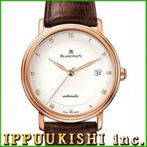 ブランパンル•ブラスス ・新品/未使用・時計 (説明書付き、化粧箱入り)・38 x 39 mm・レッドゴールド