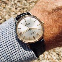 Omega Seamaster De Ville Automatic 14K Gold vintage mens watch