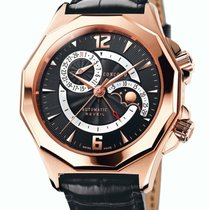 Concord Rose gold Automatic Black 42mm pre-owned Mariner