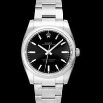 Rolex Steel Automatic Black 34mm new Oyster Perpetual 34