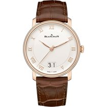 Blancpain Villeret new 2019 Automatic Watch with original box and original papers 6669-3642-55B