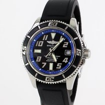 Breitling Superocean 42, Blue, Folding clasp