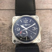Bell & Ross BR 03-97 Réserve de Marche new 2014 Automatic Watch with original box and original papers BR0397-BL-SI/SCA