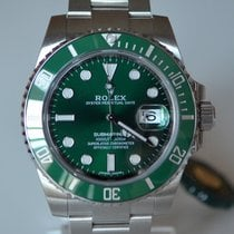 Rolex Submariner Date 116610LV New 100% Stickers