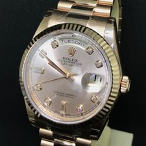 Rolex 36mm Automatic 2018 new Day-Date 36 Pink