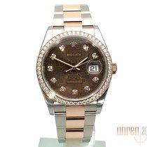 Rolex Chronometer 36mm Automatic 2018 new Datejust (Submodel) Brown