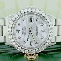 Rolex Datejust Steel 36mm Mother of pearl