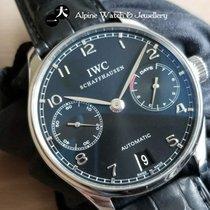 IWC Portuguese Automatic Steel Black Arabic numerals