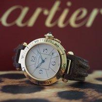 Cartier Pasha Zuto zlato 38mm