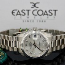 Rolex White gold Automatic No numerals 31mmmm new Datejust