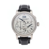 A. Lange & Söhne White gold Manual winding Silver Roman numerals 45.5mm pre-owned Richard Lange