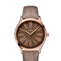 Omega De Ville Trésor new 2019 Quartz Watch with original box and original papers 428.58.36.60.13.001