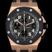 Audemars Piguet Royal Oak Offshore Chronograph Oro rosado 42mm Gris Árabes