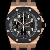 Audemars Piguet Rose gold Automatic Grey Arabic numerals 42mm pre-owned Royal Oak Offshore Chronograph