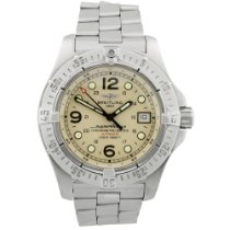 Breitling Superocean Steelfish Steel 44mm Silver Arabic numerals United States of America, California, Fullerton