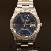 Rolex Datejust Turn-O-Graph Сталь 36mm Синий