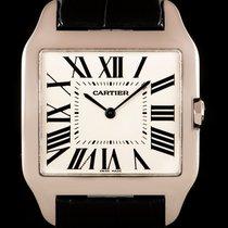 Cartier Santos Dumont White gold 35mm White Roman numerals United Kingdom, London