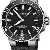 Oris Aquis Date Steel 43.5mm Black United States of America, California, Moorpark