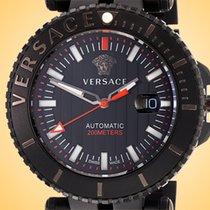 Versace Stål 46mm Automatisk VAL010016 ny