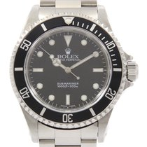 Rolex Submariner (No Date) pre-owned 40mm Black