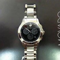 Movado Masino nuevo Cuarzo Reloj con estuche y documentos originales 0606885