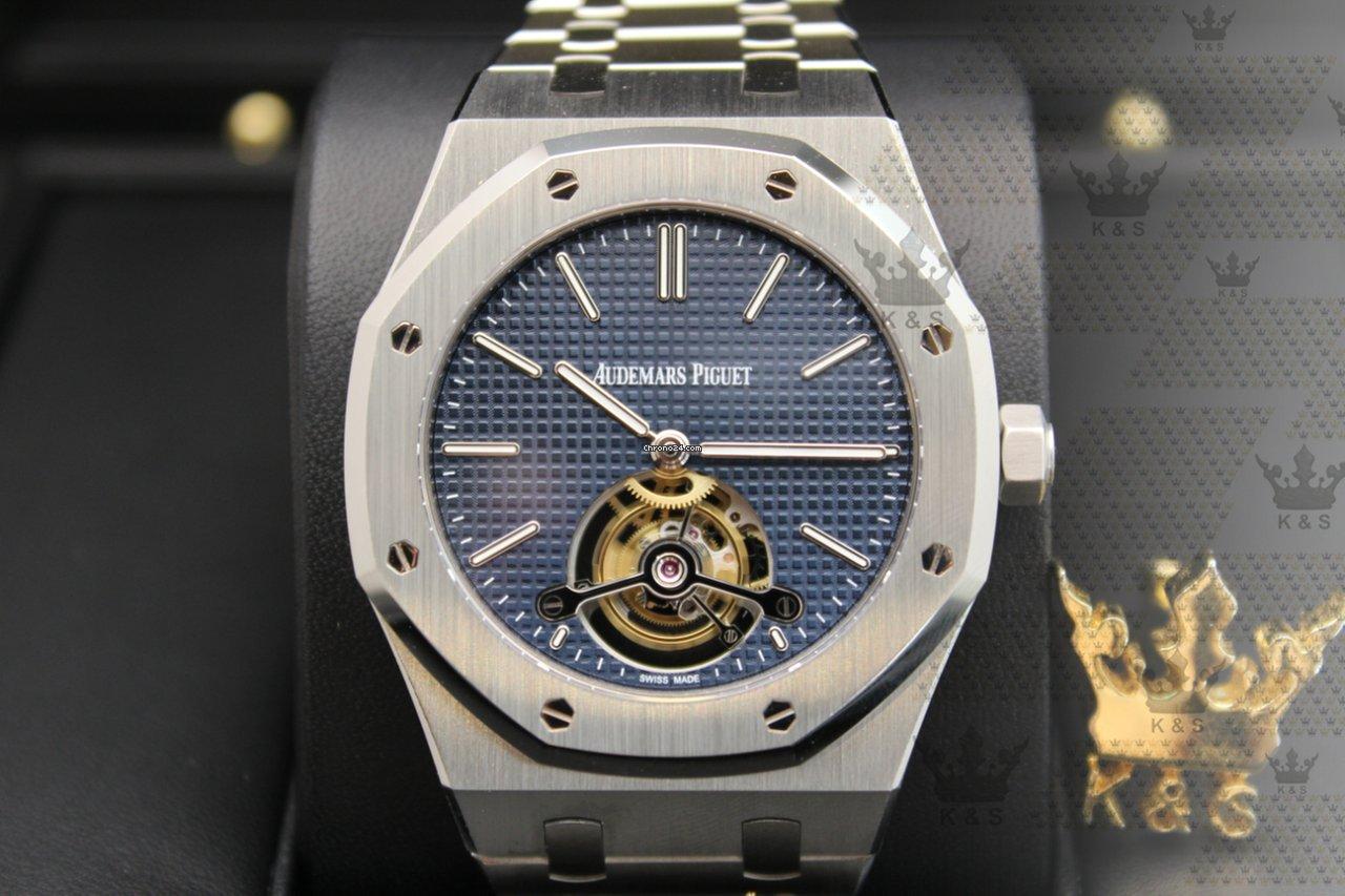 729d7863059 Audemars Piguet Royal Oak Tourbillon Steel - all prices for Audemars Piguet  Royal Oak Tourbillon Steel watches on Chrono24
