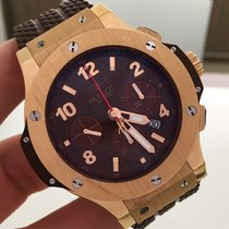 Hublot Big Bang Ouro Rose Capuccino 44mm Completo