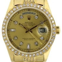 Rolex President Day Date Men's 36mm Diamond Dial 18k...