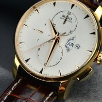 Mido Baroncelli Gent Data Days Brown Strap M860731182