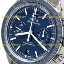 Omega Speedmaster Professional Moonwatch 311.90.44.51.03.001 OMEGA TITANIUM  Chrono Automatic Blu 2020 new