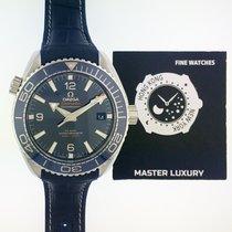 歐米茄 215.33.44.21.03.001, Seamaster, Blue Dial, Steel and Leather
