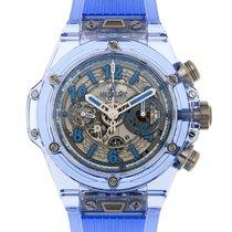 恒宝  Big Bang Sapphire Crystal Silver Automatic 411.JL.4809.RT