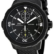 IWC Aquatimer Chronograph Otel 45mm Negru