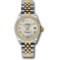 Rolex Lady-Datejust Steel 31mm Mother of pearl Roman numerals