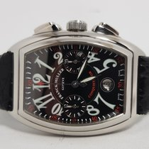 Franck Muller Steel 34mm Automatic 8001 CC pre-owned