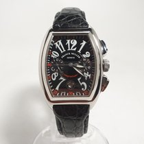 Franck Muller Conquistador Steel 34mm Black Arabic numerals