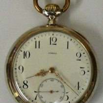 Omega Silver Cased Pocket Watch