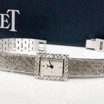 Piaget Rare 1970s Sleek Piaget 18kt 2.25 Diamond Bracelet Watch