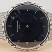 Patek Philippe Calatrava, White Gold, Sunburst Dial, Beautiful...